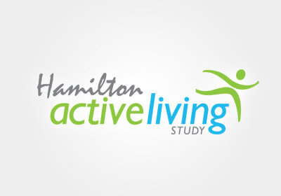 Hamilton Active Living Study Logo and Print Material