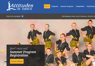 Attitudes In Dance KW Website