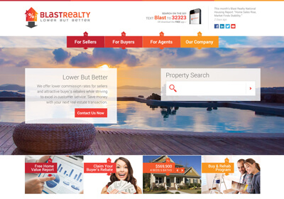 Blast Realty Website