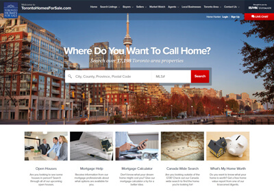 RE/MAX Ultimate Website